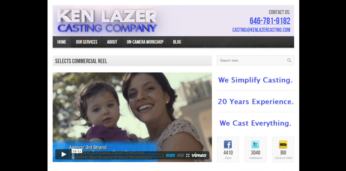 Ken Lazer Casting