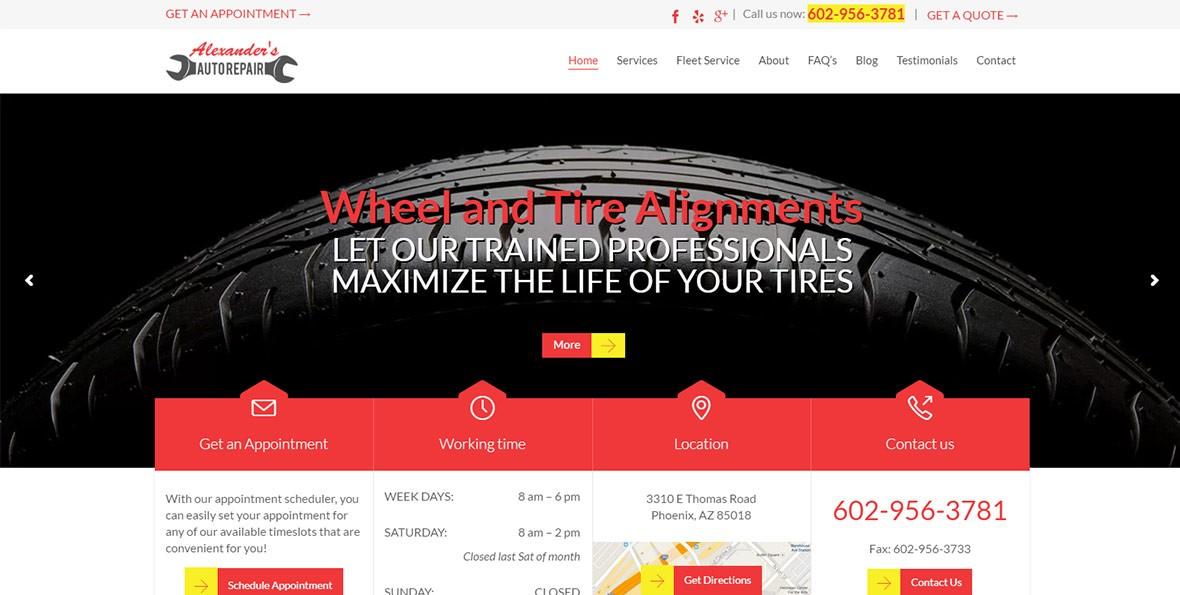 alexanders auto repair